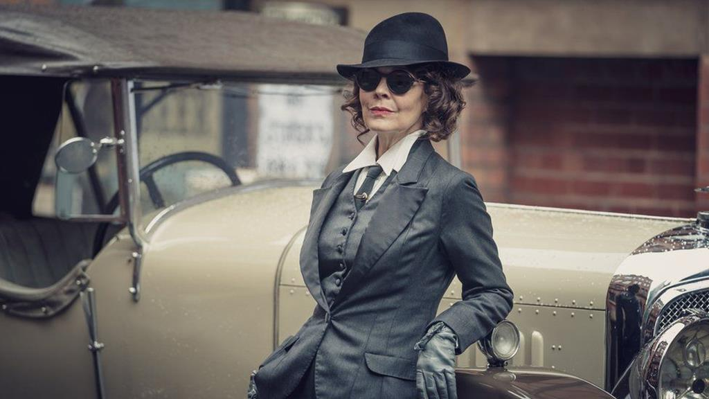 Helen McCrory na série Peaky Blinders. Foto: DR