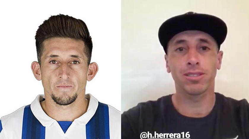 Mensagem de Herrera após plástica. Veja as diferenças