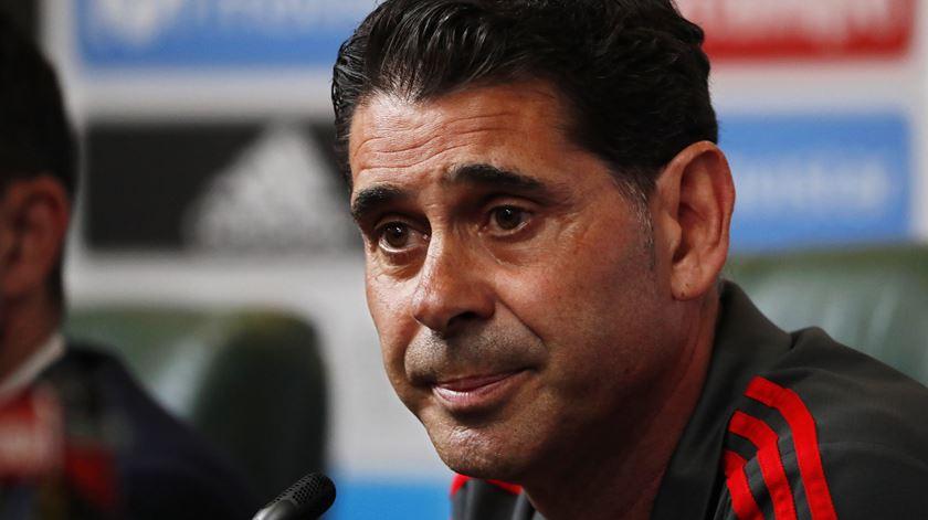"""Hierro respeita Irão de Queiroz. """"É uma equipa muito poderosa"""""""