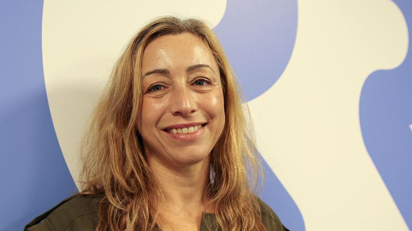 Carla Amaro, Capitão-Tenente médica da Marinha Portuguesa. Foto: Daniela Espírito Santo/RR
