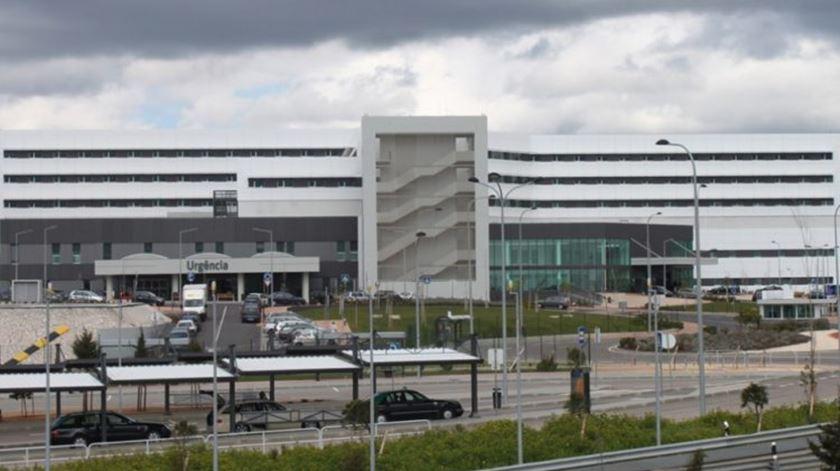 Hospital de Cascais alvo de buscas. Foto: DR