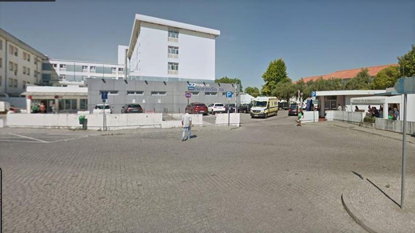Hospital de Évora, onde estão internadas várias vítimas de Covid-19 do surto de Vila Viçosa. Foto: Google Maps
