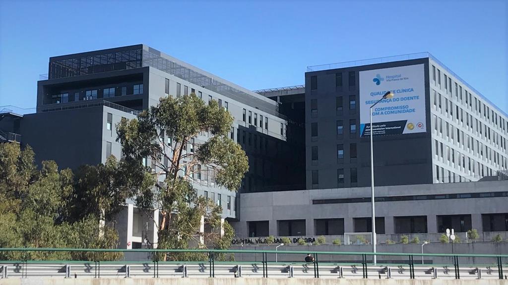 Hospital de Vila Franca de Xira. Foto: Beatriz Lopes/RR