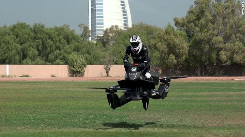 As forças policiais do Dubai deverão começar a utilizar este veículo em 2020. Foto: DR