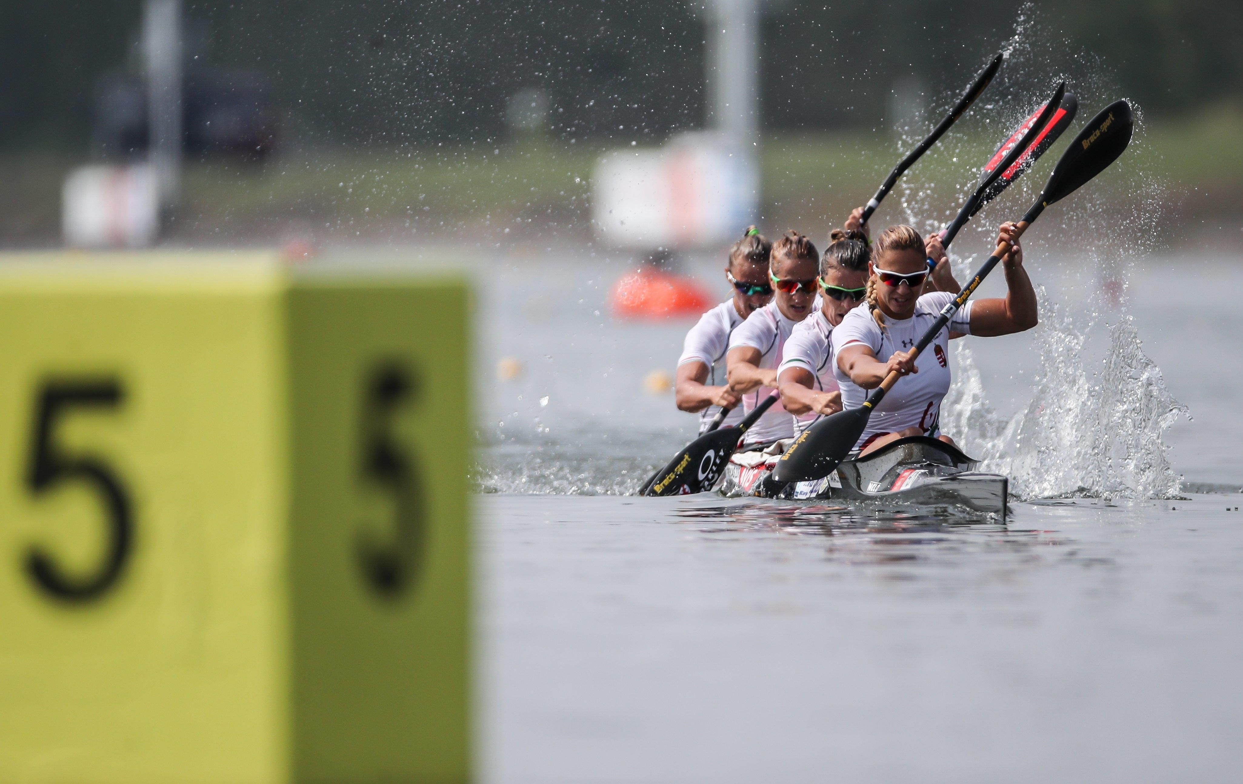 Portugal vence final B de K4 500 feminino nos mundiais de canoagem
