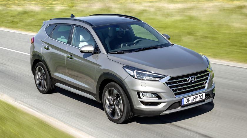Hyundai Tucson 1.6 CRDI - Equilibrio em toda a linha