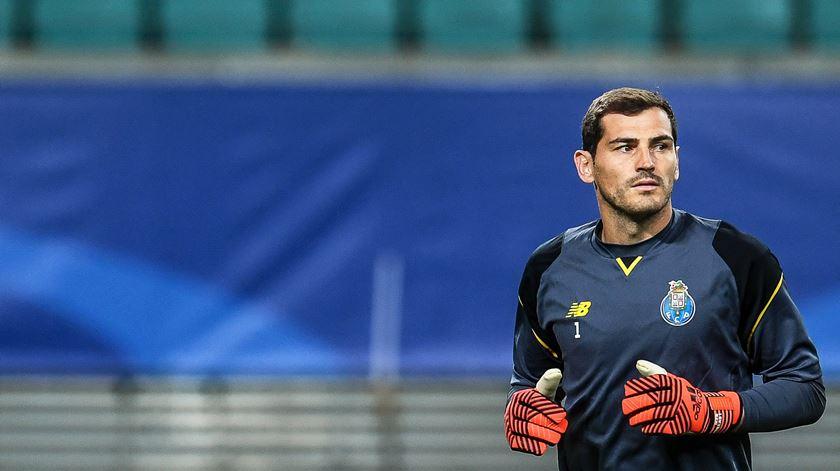 Casillas preparado para defrontar o Braga. Foto: Filip Singer/EPA