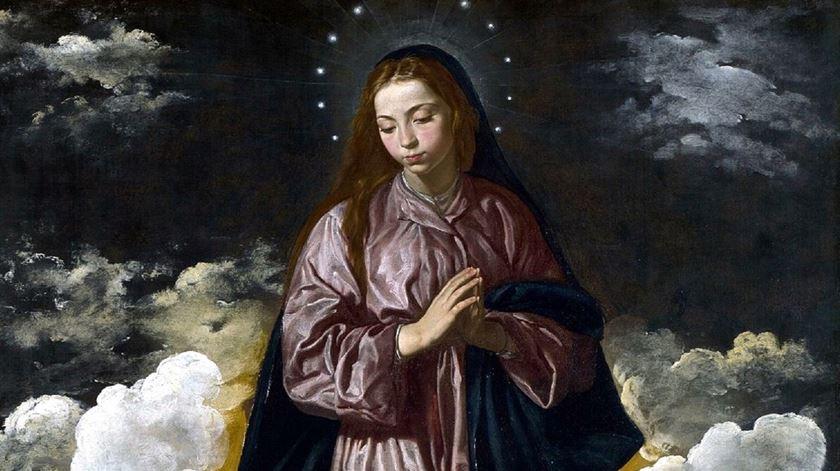 Imaculada Conceição - Diogo Velásquez National Gallery Londres Reino Unido. Foto: DR