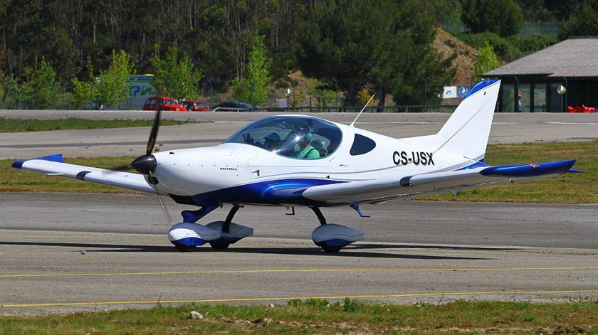 Aeronave ultraleve Bristel NG5 Foto: Carlos Seabra