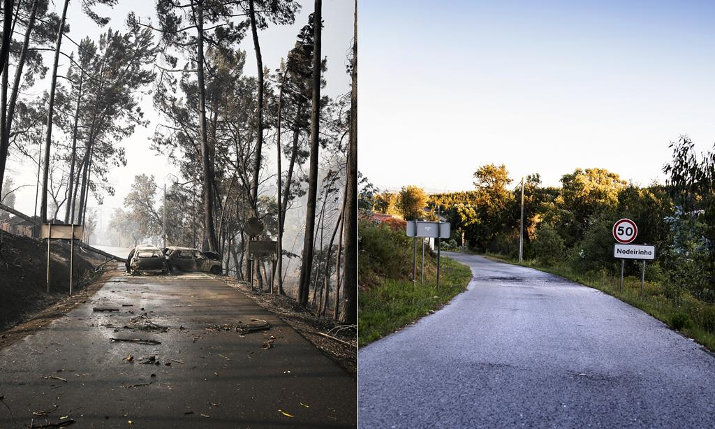 Montagem de fotografias de 2017 e 2020. Fotos: Joana Bourgard/RR