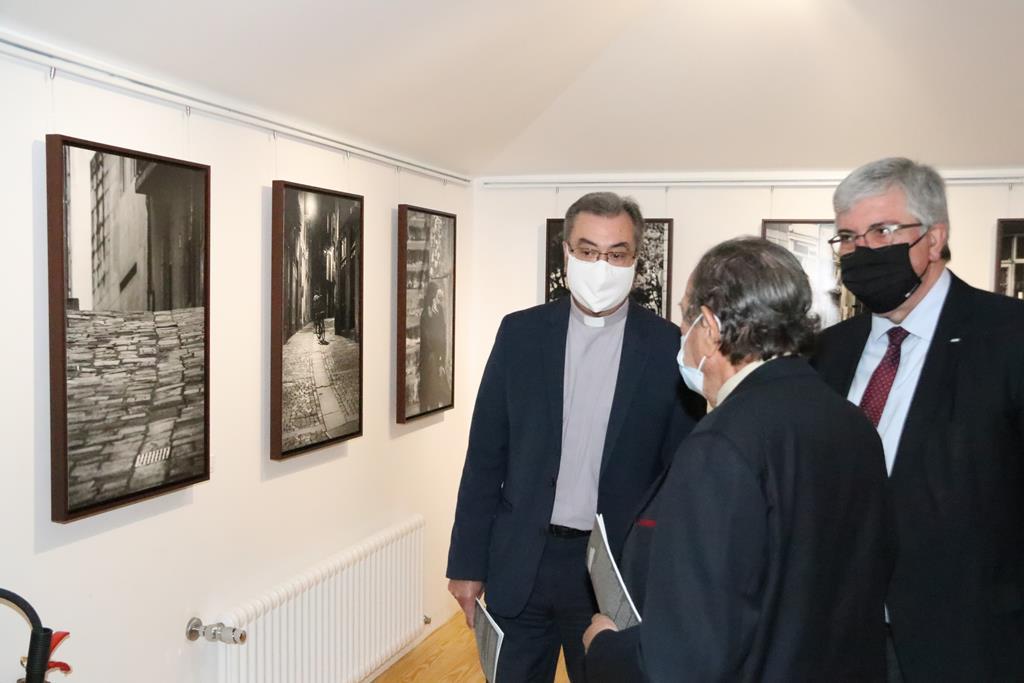 """D. Manuel Linda na Inauguração da exposição """"Só, neste Porto só"""", na Torre dos Clérigos, no Porto. Foto: Irmandade dos Clérigos"""