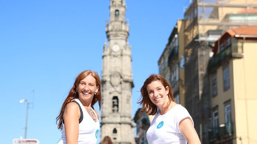 Ana Galvão e Carla Rocha Foto:Ricardo Fortunato