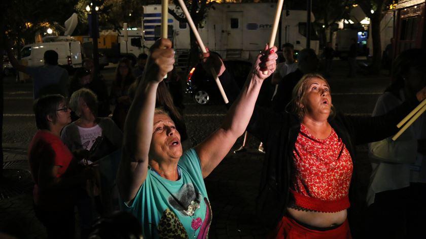 Apoiantes de Rui Moreira fizeram a festa. Foto: Gonçalo Costa/RR