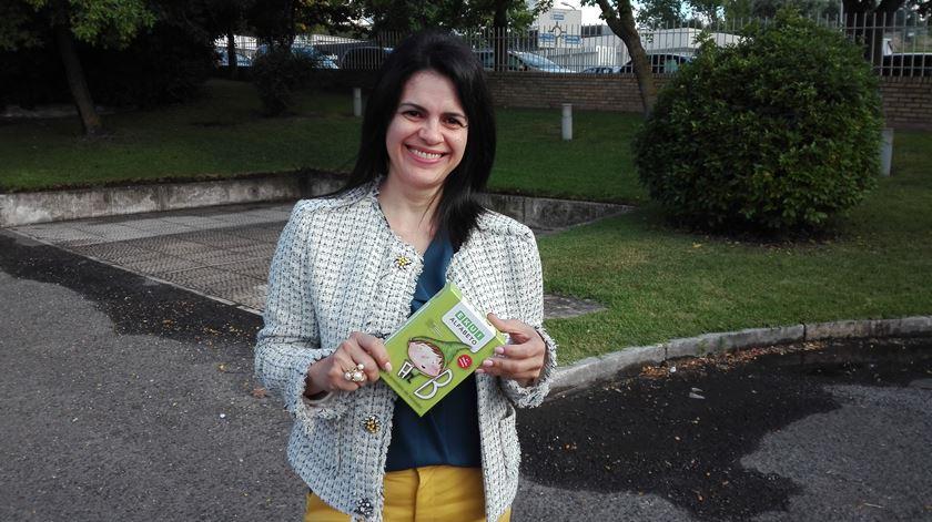 Celmira Macedo, professora de educação especial, é a autora do projeto Foto: Pedro Filipe Silva/RR