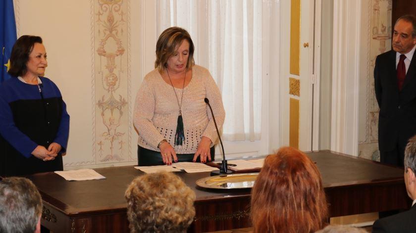 Lucília Gago na tomada de posse como Diretora do DIAP de Lisboa.  Foto: PGR