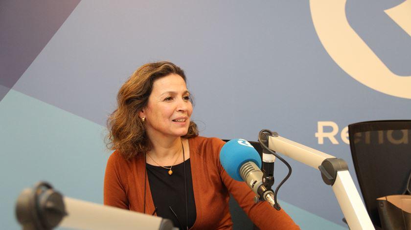 Catarina Martins Bettencourt, responsável pela Fundação Ajuda à Igreja que Sofre em Portugal. Foto: Manuel Costa/Ecclesia