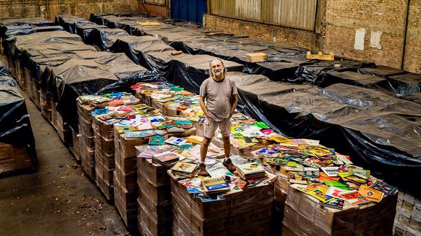 Maior colecionador de vinil tem sete milhões de discos