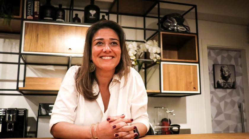 Anabela Cunha também se queixa da crise. Foto: Mia Alberti