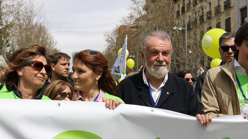 Jaime Mayor Oreja, da federação One of Us. Foto: JMO