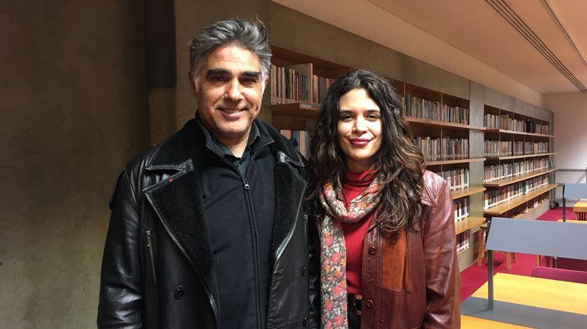 Edgar Pêra e Teresa Coutinho falam de livros