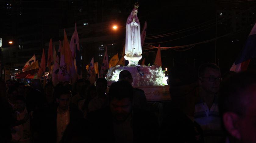 Imagem peregrina de Fátima já está no Panamá