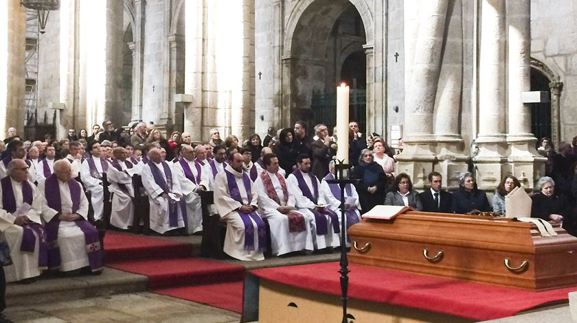 Funeral de D. António Santos, bispo emérito da Guarda. Foto: Liliana Carona/RR