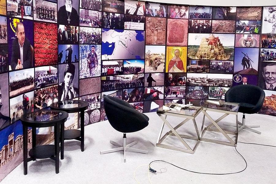 A Suroyo TV é uma das vozes da comunidade siríaca. Transmite de Södertälje para todo o mundo