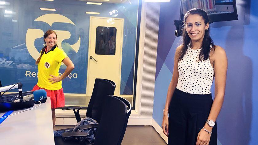 Árbitra Vanessa Gomes n