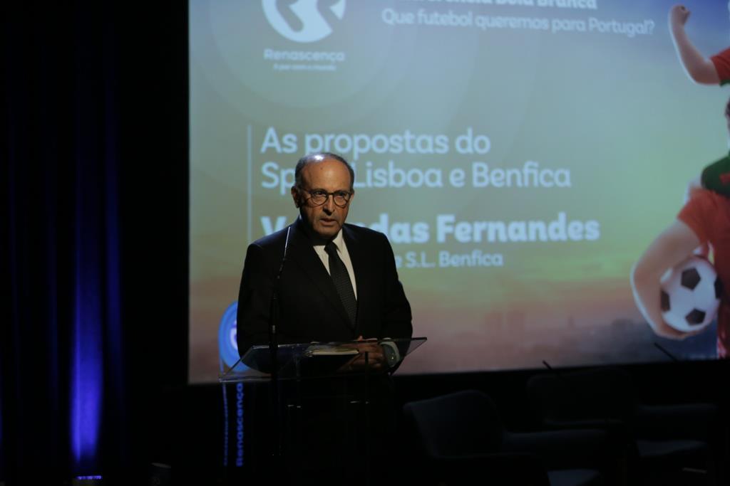Varandas Fernandes alinha na mensagem do presidente Luís Filipe Vieira. Foto: RR