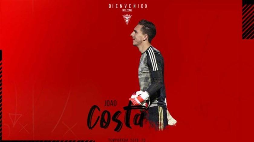 João Costa, Mirandés. Foto: CD Mirandés.