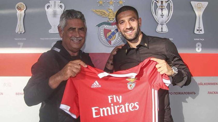 Taarabt renova pelo Benfica. Foto: SL Benfica