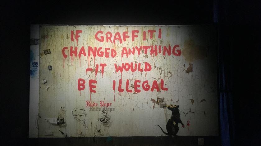Ensaio Geral - Banksy por Lisboa, (muito) teatro em Almada e a poesia de António Carlos Cortez - 21/06/2019