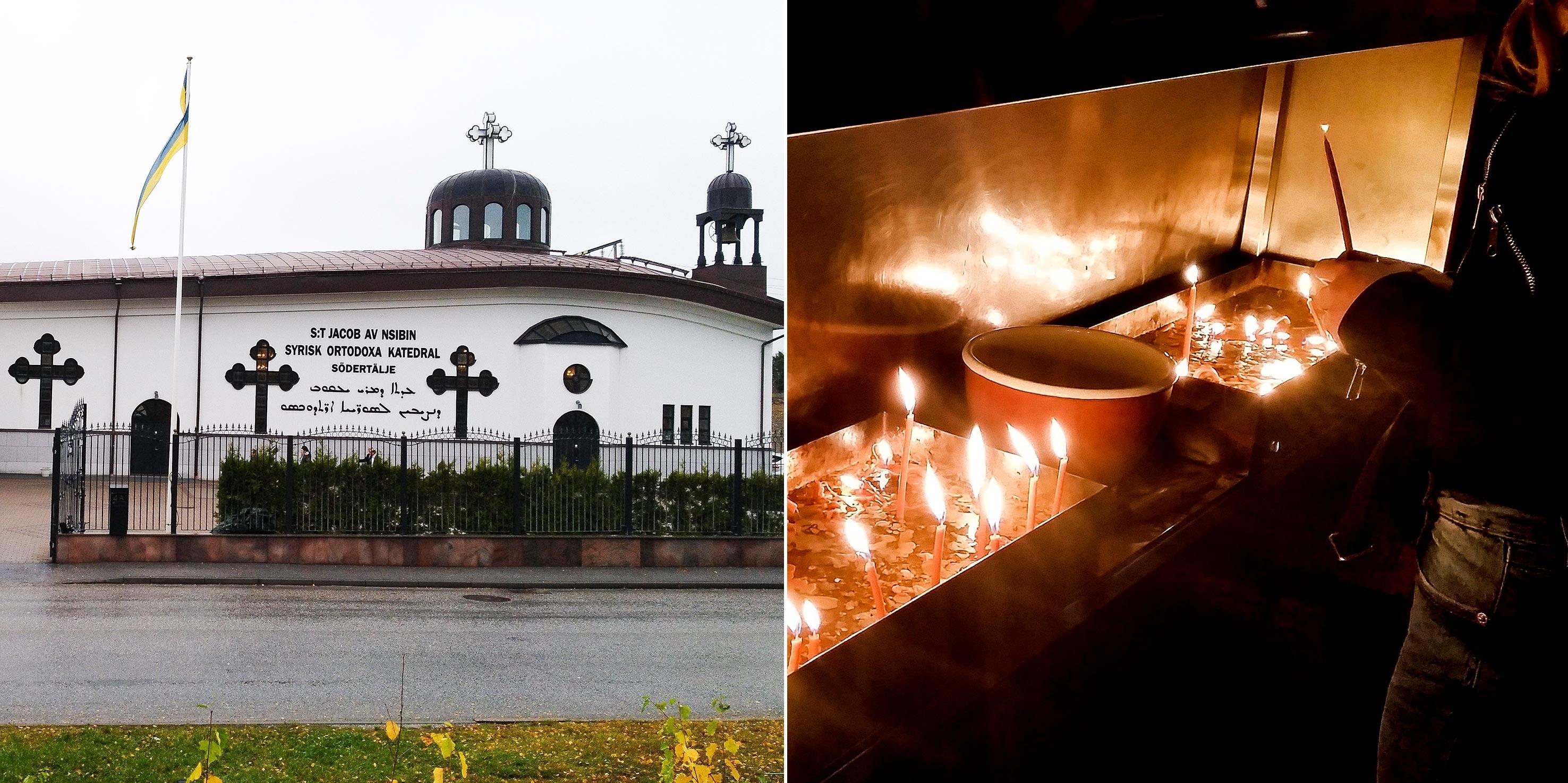 O peso da comunidade siríaca torna Södertälje a cidade com mais cristãos praticantes do país