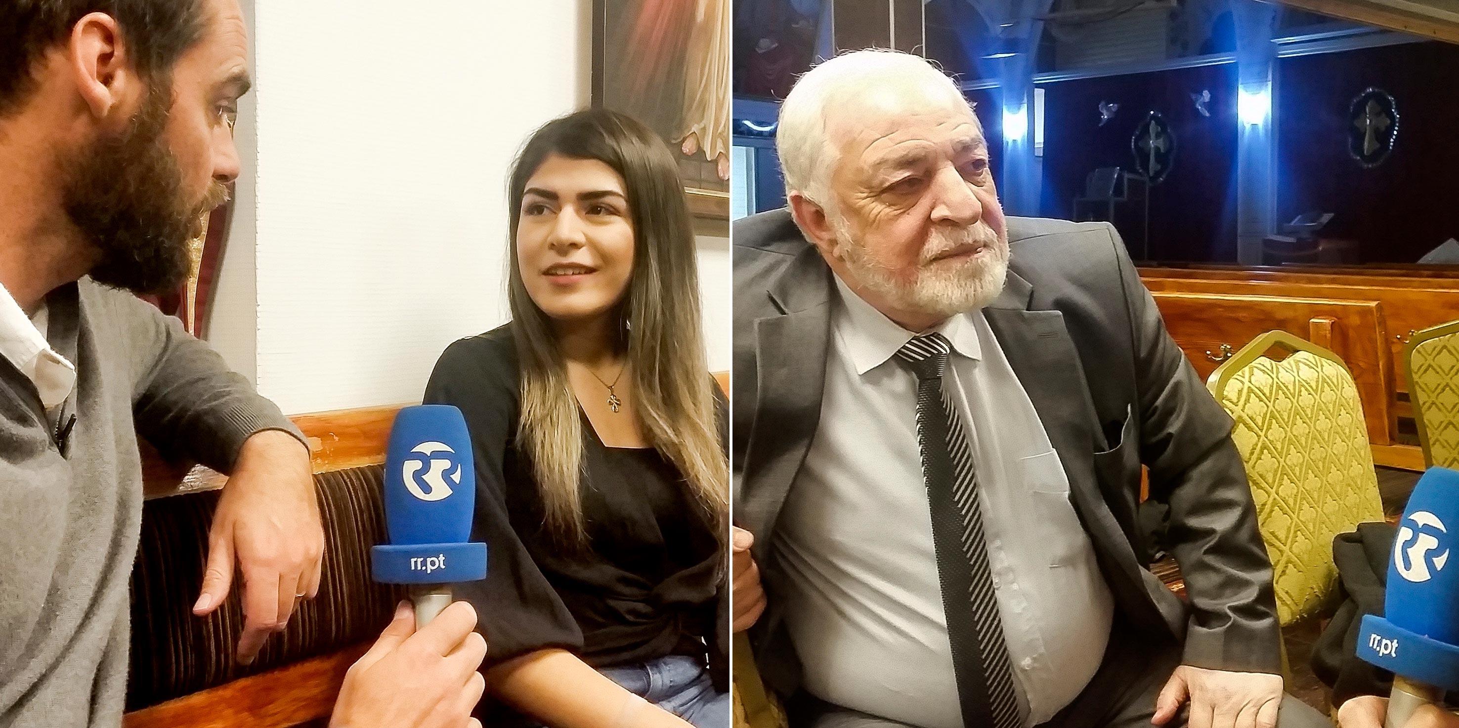 Joseph e Gabriela, dois imigrantes da Síria, divididos pela idade e pelas circunstâncias da partida