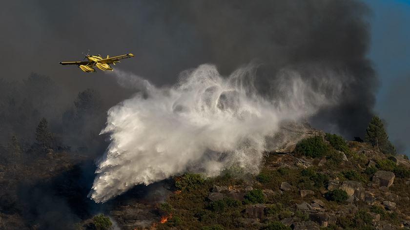 PJ deteve suspeita de atear fogo florestal no Parque Nacional da Peneda-Gerês