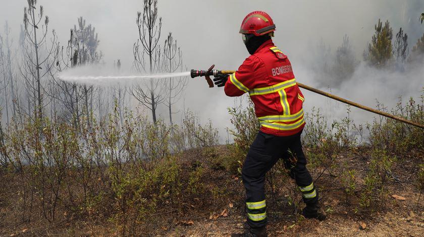 Incêndio em Arouca em resolução