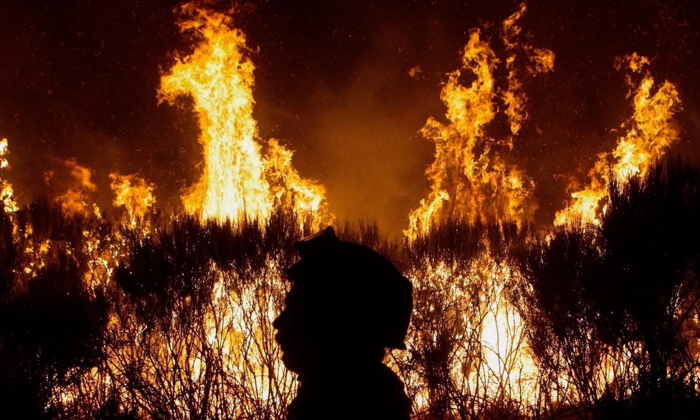 Incêndio na Guarda. Duas aldeias foram evacuadas por prevenção