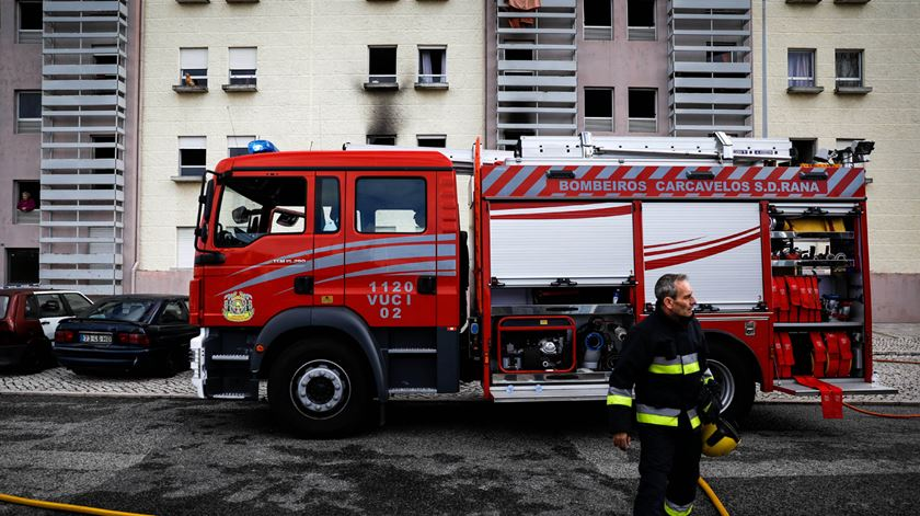 Resultado de imagem para Quatro feridos graves em incêndio em lar de idosos de Abrantes