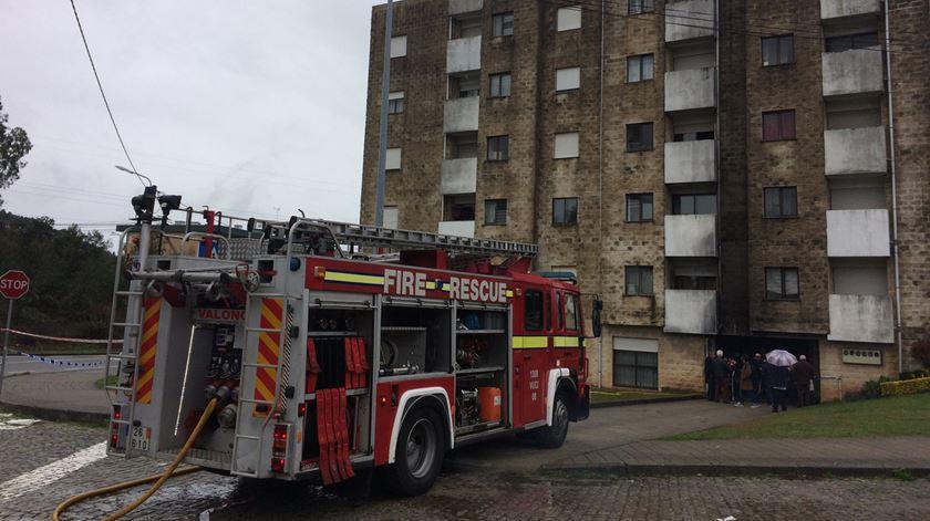 Incêndio em Valongo. Quatro hospitalizados e cinco famílias realojadas