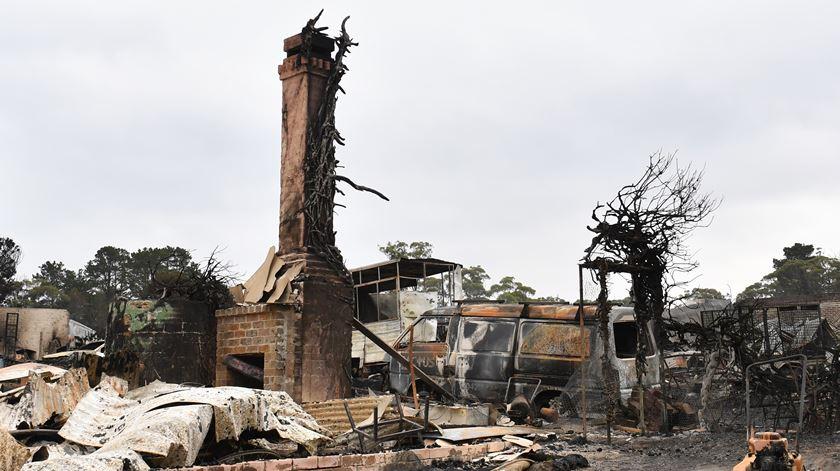 Austrália. Homem que perdeu a casa nos fogos ganha lotaria