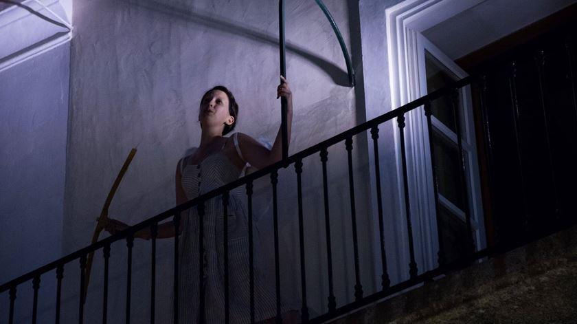 """Inês Pinto interpreta Amore, personagem determinante em """"Orfeo ed Eurídice"""". Foto: Casa Morgado Esporão"""