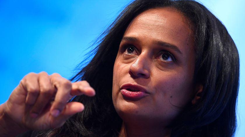 PGR angolana admite mandado de captura contra Isabel dos Santos em coordenação com Portugal