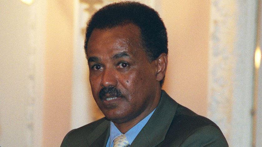 Isaias Afwerki, líder da Eritreia. Foto: WikiCommons