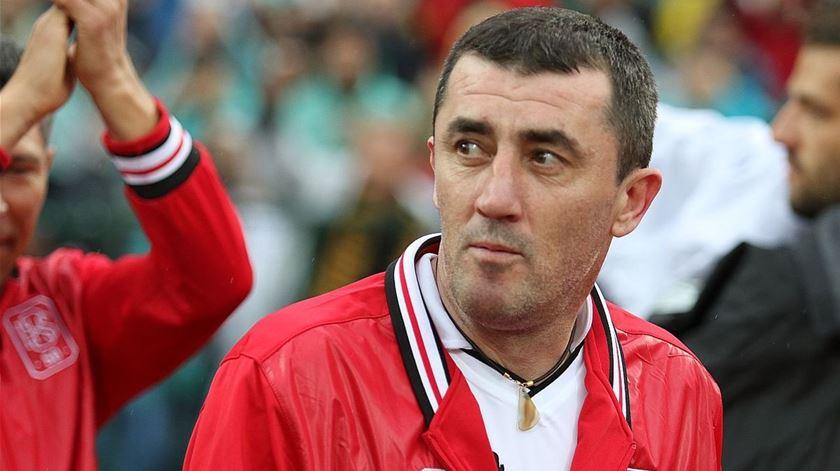 Iordanov disputou vários dérbis com a camisola do Sporting. Foto: DR