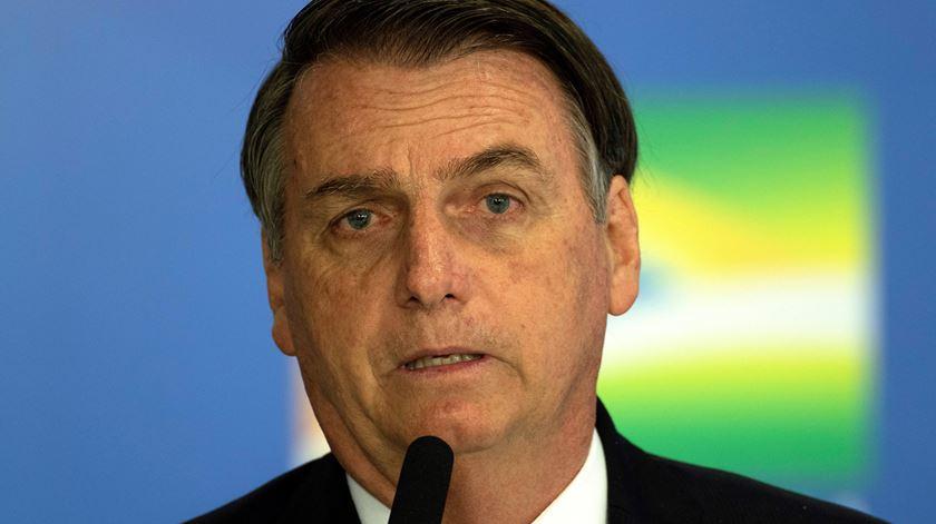 Bolsonaro deixa o hospital
