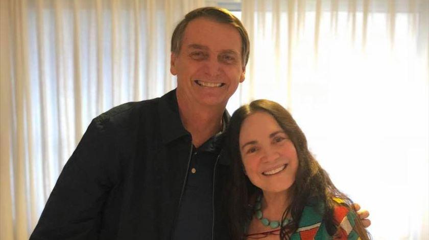 Regina Duarte demite-se da Secretaria de Cultura do Brasil