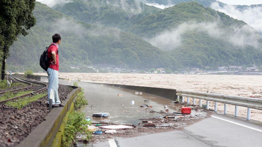 Chuvas torrenciais provocam pelo menos 45 mortos no Japão