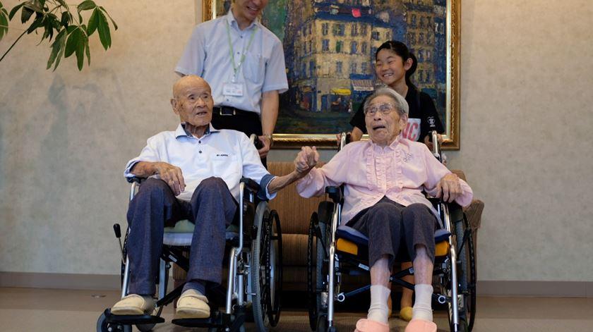 O segredo do casal mais velho do mundo? Muita paciência