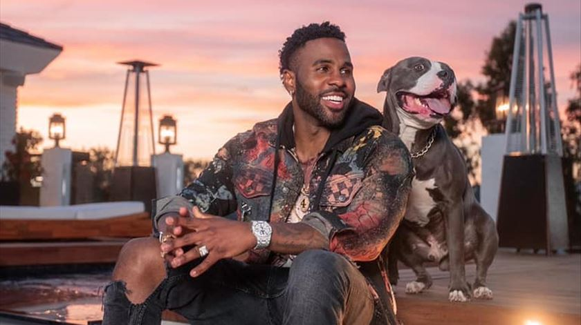 ​Jason Derulo junta-se a Post Malone e Duran Duran no Rock in Rio Lisboa 2021