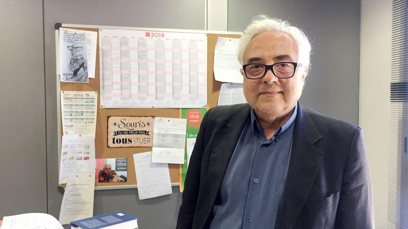 Javier de Lucas Martín, diretor do Instituto de Direitos Humanos, Universidade de Valência. Foto: Catarina Santos/RR